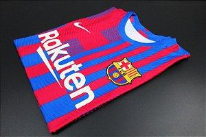 Camisa Barcelona 2021-22 (Home-Uniforme 1) - Modelo Jogador