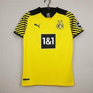 Camisa Borussia Dortmund 2021-22 (Home-Uniforme 1)