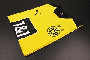 Camisa Borussia Dortmund 2021-22 (Home-Uniforme 1) - Modelo Jogador