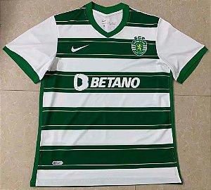Camisa Sporting 2021-22 (Home-Uniforme 1)