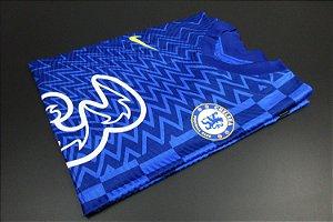 Camisa Chelsea 2021-22 (Home-Uniforme 1) - Modelo Jogador
