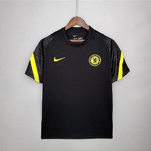 Camisa Chelsea (treino preta) 2021-22