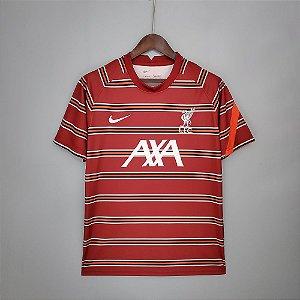 Camisa Liverpool (Pré-Jogo) 2021-22
