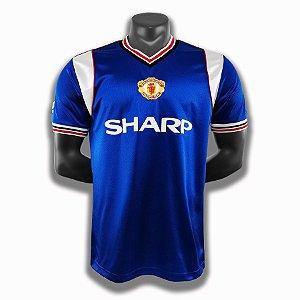 Camisa Manchester United 1984-1986 (Third-Uniforme 3)