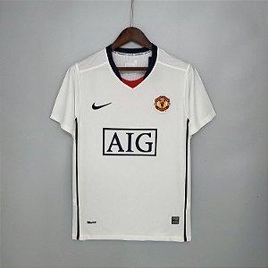 Camisa Manchester United 2008-2009 (Away-Uniforme 2)