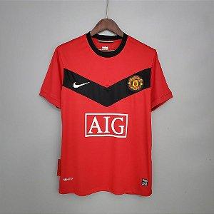 Camisa Manchester United 2009-2010 (Home-Uniforme 1)
