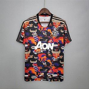 "Camisa Manchester United  CNY 2021 ""Ano Novo Chinês"""