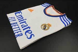 Camisa Real Madrid 2021-22 (Home-Uniforme 1) - Modelo Jogador