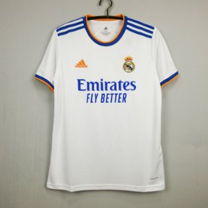 Camisa Real Madrid 2021-22 (Home-Uniforme 1)
