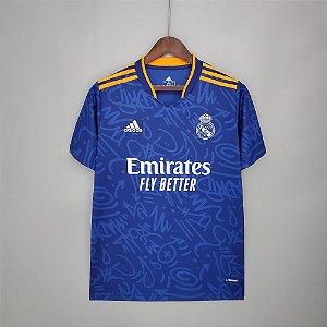 Camisa Real Madrid 2021-22 (Away-Uniforme 2)