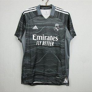 Camisa Real Madrid 2021-22 Goleiro (Home-Uniforme 1)