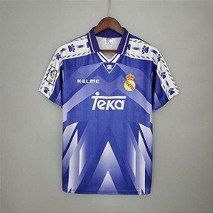 Camisa Real Madrid 1996-1997 (Away-Uniforme 2)