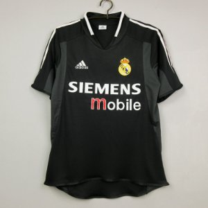 Camisa Real Madrid 2004-2005 (Away-Uniforme 2)