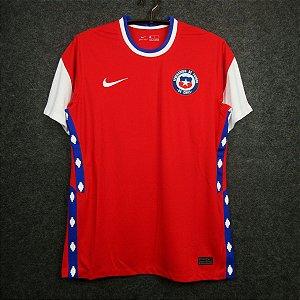 Camisa Chile 2020-21 (Home-Uniforme 1) - Modelo Torcedor
