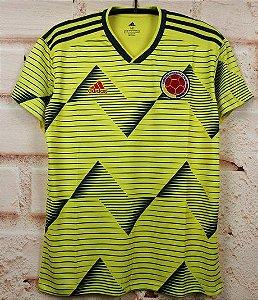 Camisa Colômbia 2019-20 (Home-Uniforme 1) - Modelo Torcedor