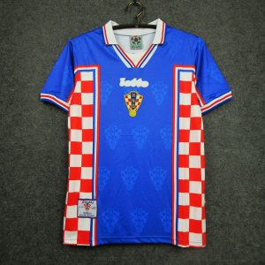 Camisa Croácia Copa do Mundo 1998 (Away-Uniforme 2)