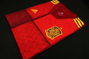 Camisa Espanha 2020-21 (Home-Uniforme 1) - Modelo Jogador