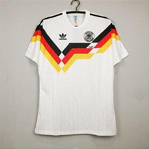 Camisa Alemanha 1990 Copa do Mundo  (Home-Uniforme 1)