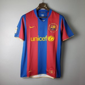 Camisa Barcelona 2007-2008 (Home-Uniforme 1)