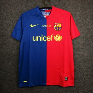 Camisa Barcelona 2008-2009 (Home-Uniforme 1) -Final Champions League