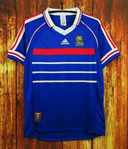 Camisa França Copa do Mundo 1998 (Home-Uniforme 1)