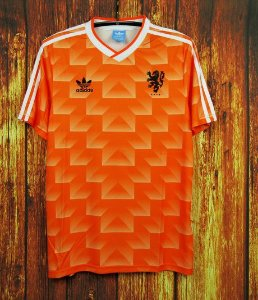 Camisa Holanda 1988 (Home-Uniforme 1) - Eurocopa (torcedor)