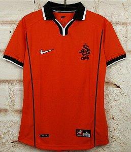 Camisa Holanda 1998 (Home-Uniforme 1)  - Copa do Mundo
