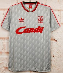 Camisa Liverpool 1989-1991 (Away-Uniforme 2)