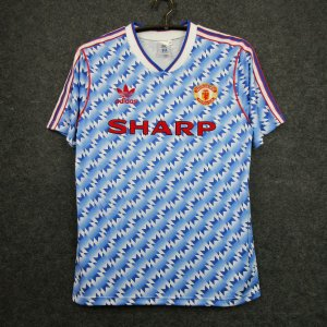 Camisa Manchester United 1990-1992 (Away-Uniforme 2)