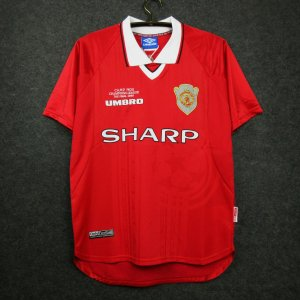 Camisa Manchester United 1999-2000 (Home-Uniforme 1)