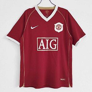 Camisa Manchester United 2006-2007 (Home-Uniforme 1)