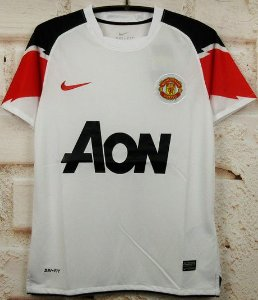 Camisa Manchester United 2010-2011 (Away-Uniforme 2)
