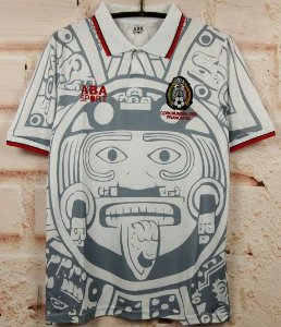 Camisa México Copa do Mundo 1998  (Away-Uniforme 2)