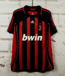 Camisa Milan 2006-2007  (Home-Uniforme 1)