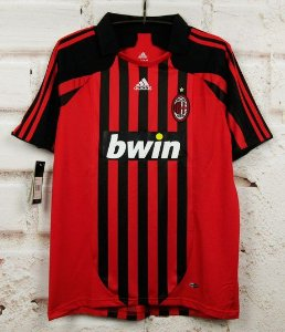 Camisa Milan 2007-2008  (Home-Uniforme 1)