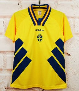 Camisa Suécia Copa do Mundo 1994 (Home-Uniforme 1)