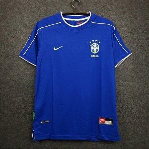 Camisa Brasil Copa do Mundo 1998  (Away-Uniforme 2)