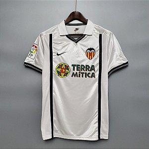 Camisa Valencia 2000-2001  (Home-Uniforme 1)
