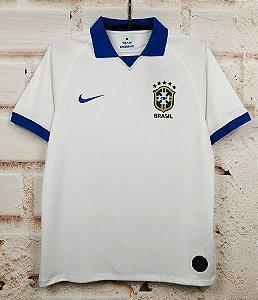 Camisa Brasil 2019-20 (Away-Uniforme 2) - Modelo Torcedor