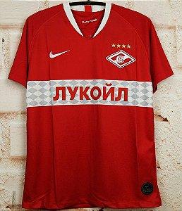 Camisa Spartak Moscou 2019-20 (Home-Uniforme 1)