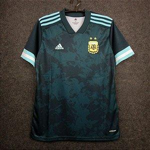 Camisa Argentina 2020-21 (Away-Uniforme 2) - Modelo Torcedor