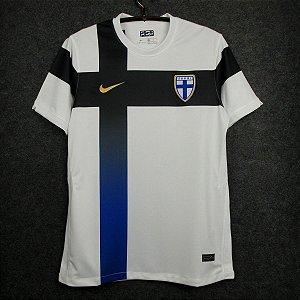Camisa Finlândia 2020-21 (Home-Uniforme 1) - Modelo Torcedor