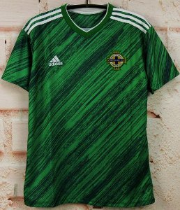 Camisa Irlanda do Norte 2020 (Home-Uniforme 1) - Modelo Torcedor
