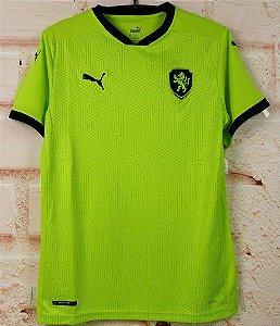 Camisa República Tcheca 2020-21 (Away-Uniforme 2) - Modelo Torcedor