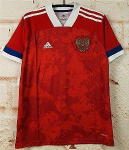 Camisa Rússia 2020-21 (Home-Uniforme 1) - Modelo Torcedor