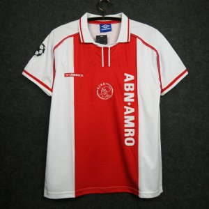 Camisa Ajax 1998-1999 (Home-Uniforme 1)