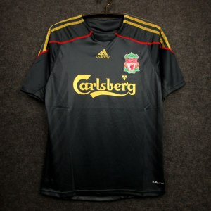 Camisa Liverpool 2009-2010 (Away-Uniforme 2)