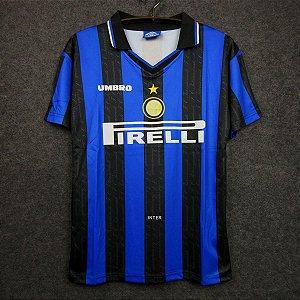Camisa Internazionale 1997-98 (Home-Uniforme 1)
