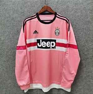 Camisa Juventus 2015-2016 (Away-Uniforme 2) - Manga Longa