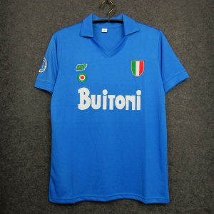 Camisa Napoli 1987-1988 (Home-Uniforme 1)